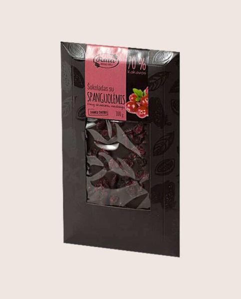 czekolada z żurawiną 70%