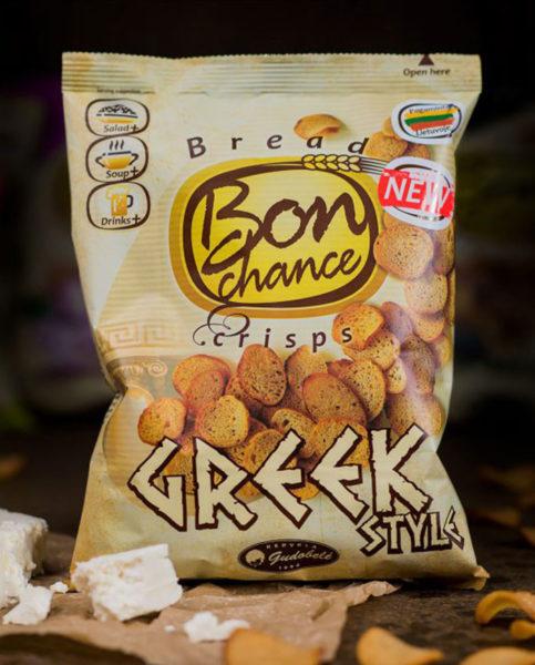 Chipsy chlebowe - Greek