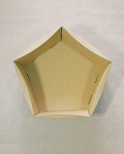 kosz prezentowy karton - opakowanie