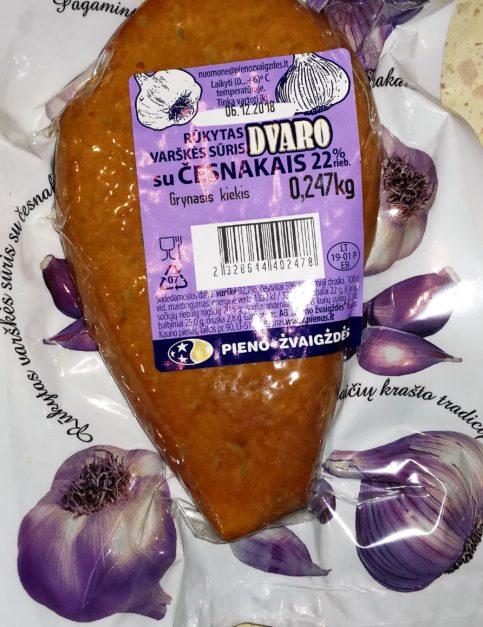 Ser wędzony z czosnkiem 22%