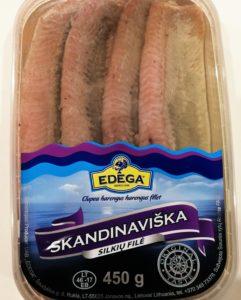Skandynawski filet śledziowy