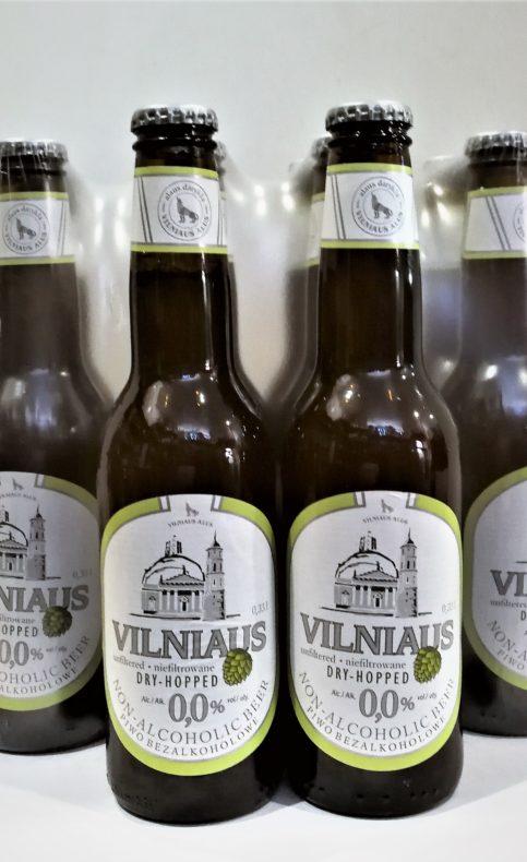 Bezalkoholowe piwo niefiltrowane